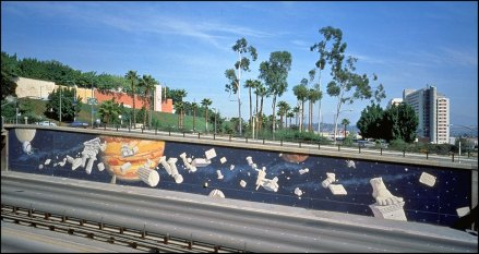 "John Wehrle's ""Galileo, Jupiter, Apollo"" - 101 Freeway at Spring St."