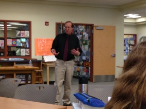 Schmidt teaches prospective writers