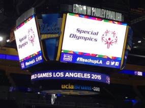 The Special Olympics: Volleyball at UCLA's Pauley Pavilion